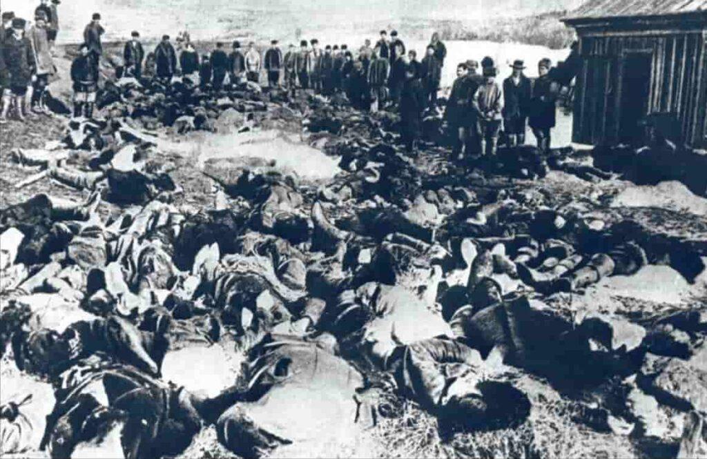 Жертвы Ленского расстрела