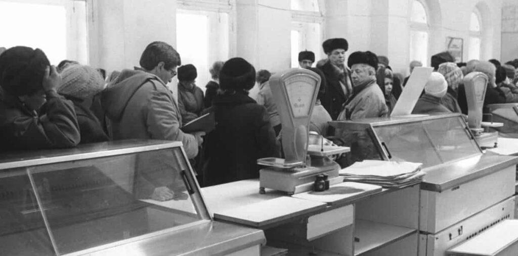 Дефицит товаров в СССР