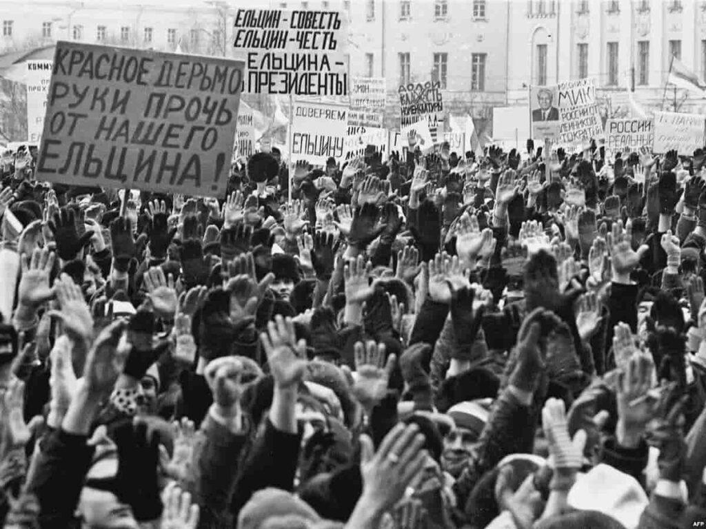 Перестройка в СССР как обман