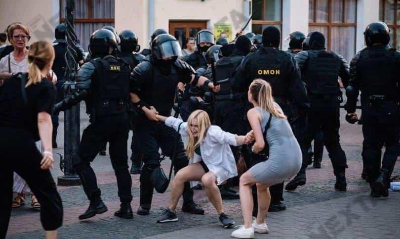Беспорядки в Белоруссии в августе 2020 года