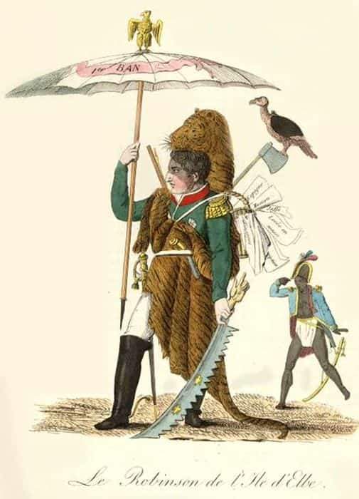 Наполеон Бонапарт на острове Эльба