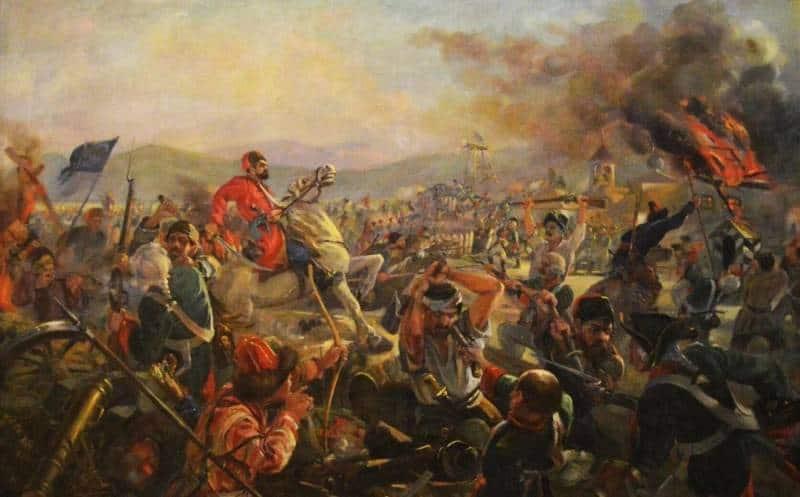 крестьянская война (бунт) Емельяна Пугачева