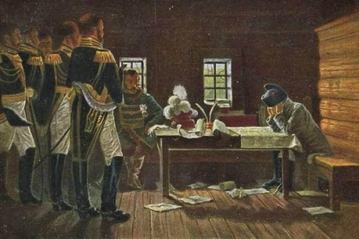 Наполеон Бонапарт в России