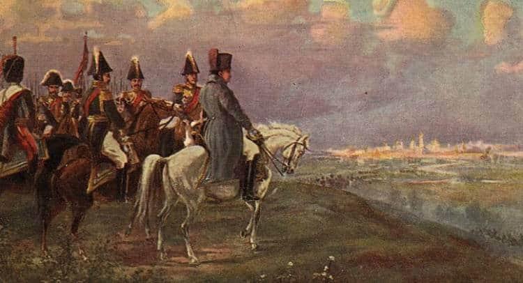 Наполеон Бонапарт и Москва