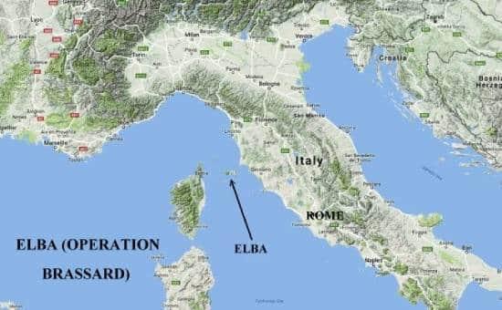 Наполеон Бонапарт и остров Эльба