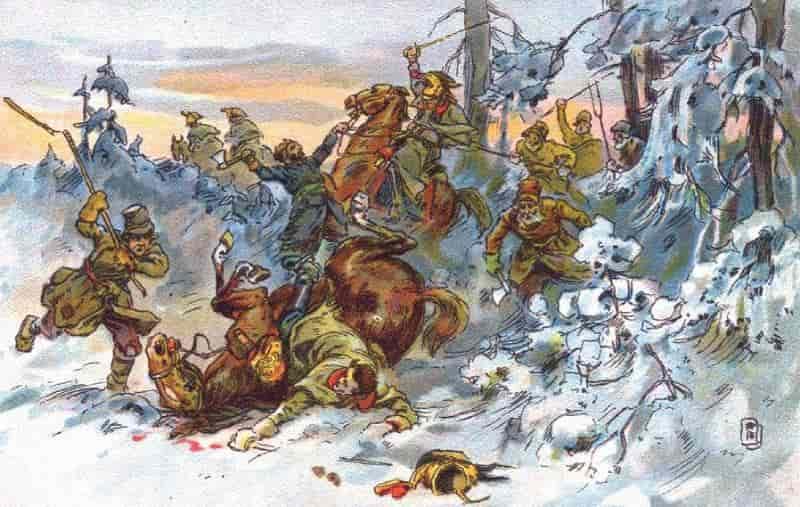 Наполеон Бонапарт и русские партизаны
