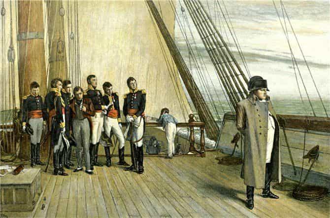 Наполеон в ссылке на острове Святой Елены