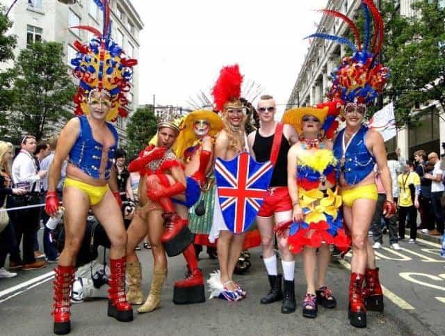 Гомосексуализм в Западной Европе