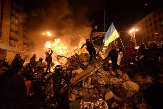 Беспорядки в Киеве в феврале 2014 года