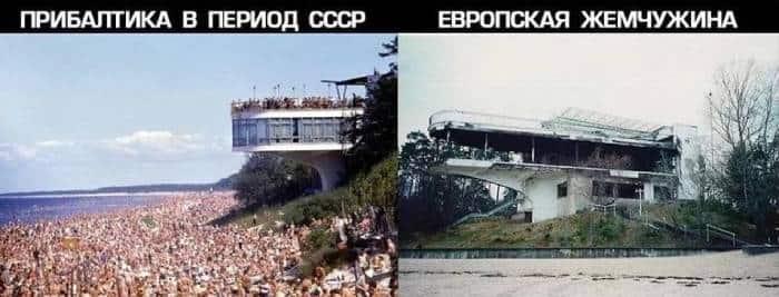 Латвия советская и постсоветская