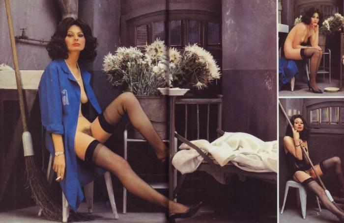 Голая Софи Лорен в мужском журнале