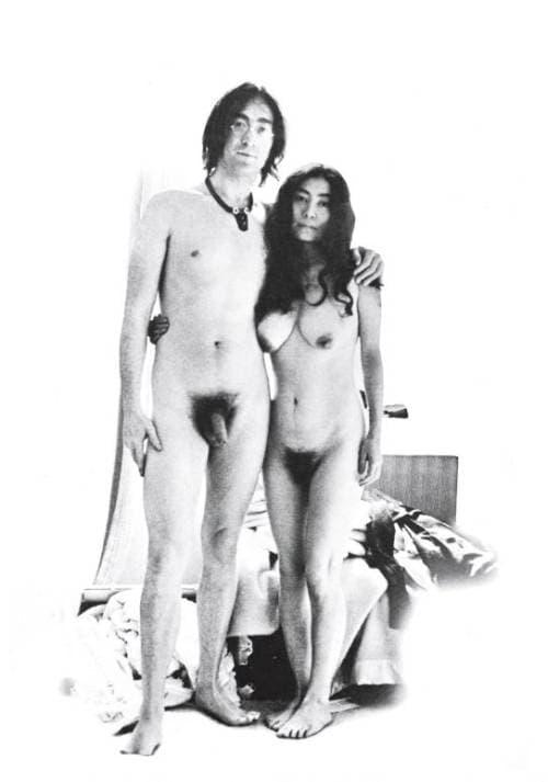 Глые знаменитости Запада (Джон Ленно и Йоко Оно)