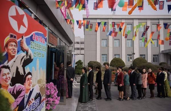 Выборы в Северной Корее