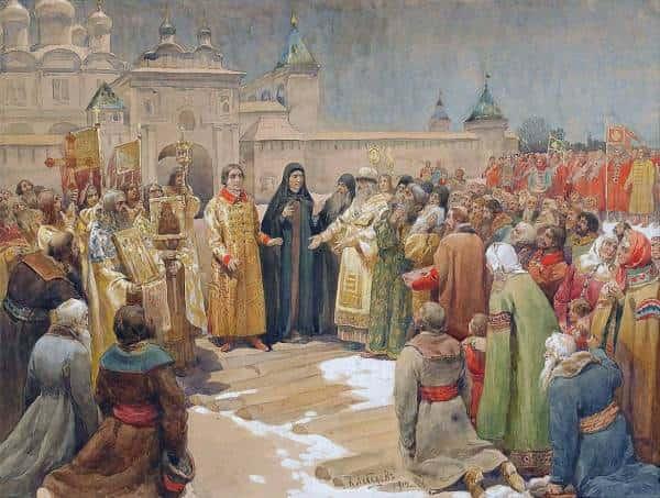Русский царь и его народ