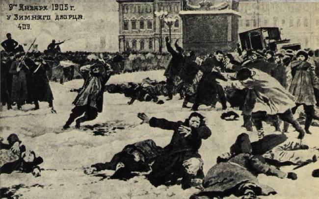 Кровавое воскресенье в Санкт-Петербурге 9 января 1905 года