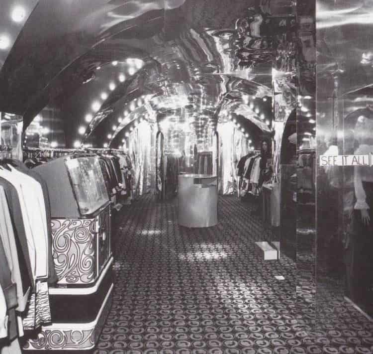 МАГАЗИНЫ ЗАПАДА В 1960-е годы