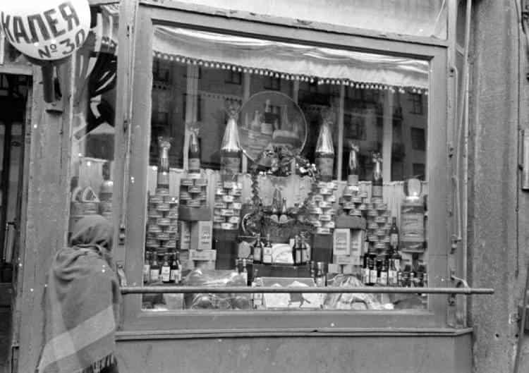 Фотографии сталинских магазинов