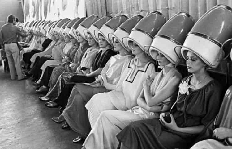 Советские парикмахерские